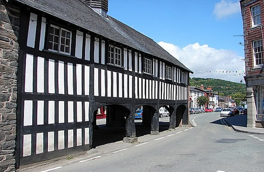 Market Hall at Llanidloes