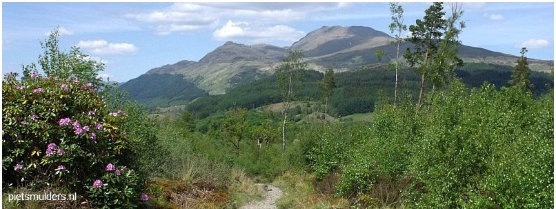 West Highland Way tussen Drymen en Rowardennan